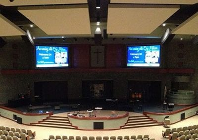 Church Video Projector Screens