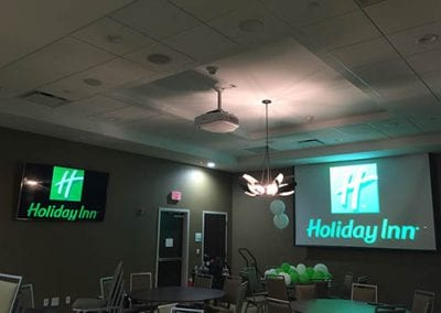 Holiday Inn Conference Room Install