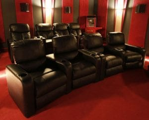 Home Theater Couch Seating