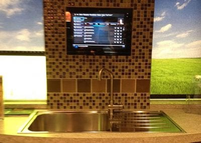 Kitchen TV Installation