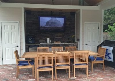 Outdoor Home Entertainment