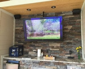 Outdoor Patio AV System