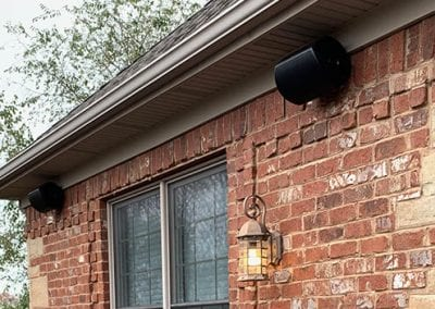 Outdoor Speakers Installation