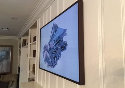 Picture Frame TV Install