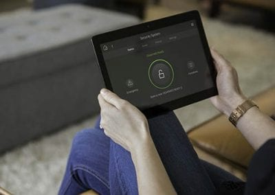 Security System iPad Monitoring