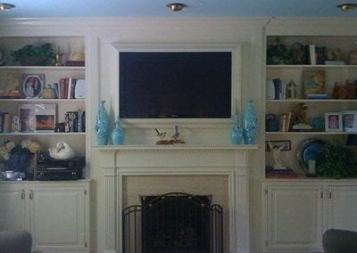 TV with Custom Frame