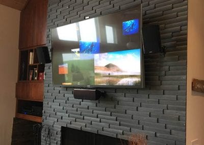 TV with Surround Sound Install