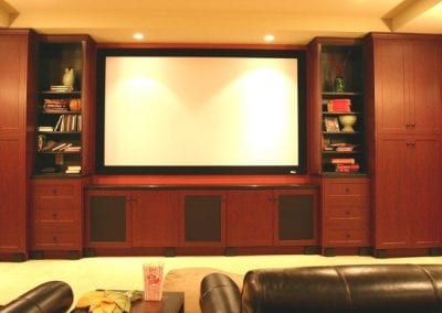 Video Screen Custom Cabinet